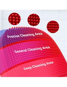 InFace Sonic 2 Limpiador facial zonas de limpieza